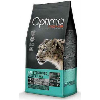 OPTIMA NOVA CAT STERILIZED 8kg
