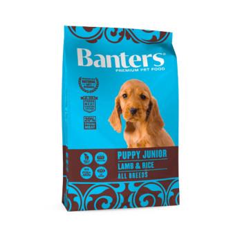 BANTERS PUPPY LAMB & RICE 15kg