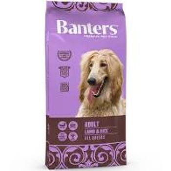 BANTERS ADULT LAMB & RICE 15kg