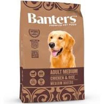 BANTERS ADULT MEDIUM CHICKEN & RICE 3kg