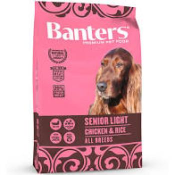 BANTERS SENIOR LIGHT CHICKEN & RICE 15kg