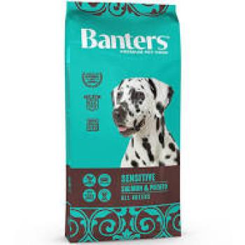 BANTERS ADULT SENSITIVE SALMON & POTATO 15kg