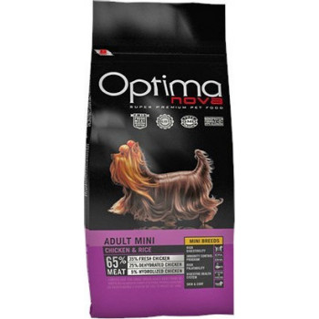 OPTIMA NOVA DOG ADULT MINI CHICKEN & RICE 2kg