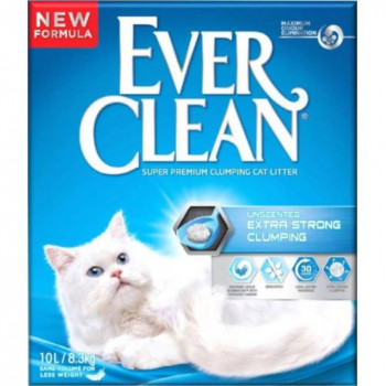 EVER CLEAN EXTRA STRONG UNSCENT 10L