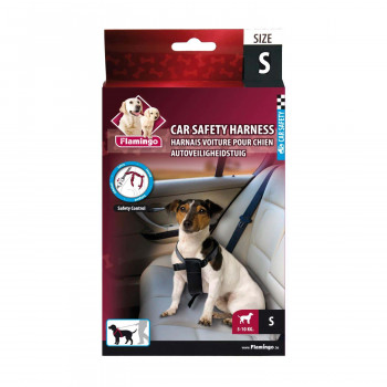 CAR SAFETY HARNESS S 44-54cm*25mm FLAMINGO