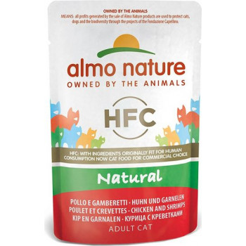 ALMO NATURE HFC CAT NATURAL POUCH 55gr