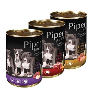 PIPER DOG JUNIOR 400gr