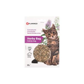 HERBY BAG/CATNIP BAG 15gr FLAMINGO