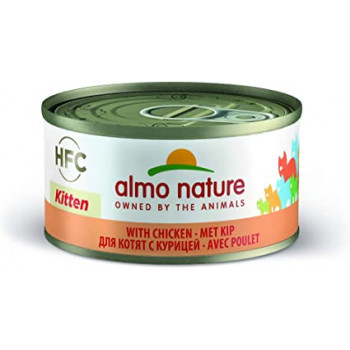 ALMO NATURE HFC KITTEN NATURAL CAN 70gr
