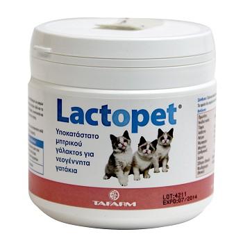 LACTOPET ΓΙΑ ΓΑΤΑΚΙΑ (200gr +ΜΠΙΜΠΕΡΟ)